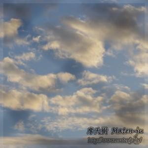 今日の夕焼け空1